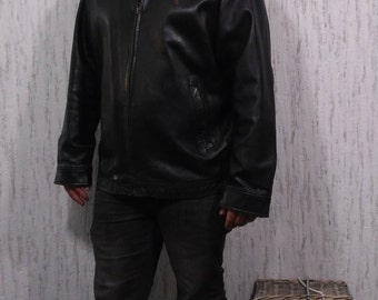 Vintage Ralph Lauren Black Leather Jacket