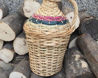 Vintage Flagon, Vintage Decanter, Vintage Bottle, Vintage Wine Bottle, Vintage Wine Jug.
