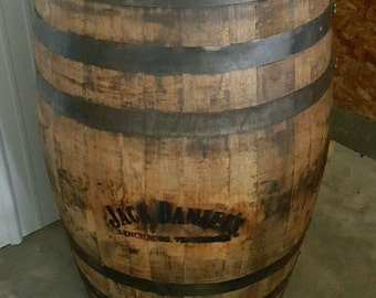 Authentic Jack Daniels Whiskey Barrel