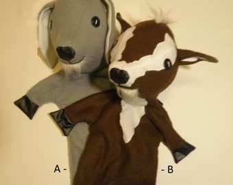 Goat  Puppet Pattern