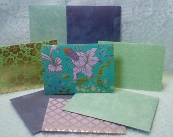 Stationery Card Set - Classic - Fancy Floral - Cards and Envelopes