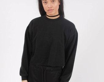 Vintage Reebok Cropped Sweatshirt