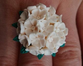White Lilac Ring