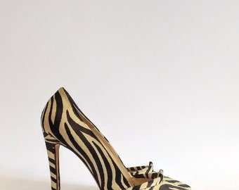 High stiletto heel vintage shoes