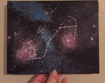 Scorpio Painting