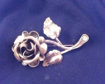 Beautiful rose brooch