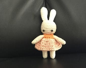 Baby bunnies made of soft cotton with safety Catania eyelets.