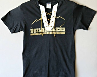 Purdue Lace Up Tee