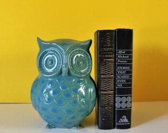 VINTAGE ceramic owl / vintage owl / ceramic owl / housewarming gift / vintage housewarming / owl