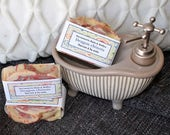 Savon à la soie Dragon chinois, manchurian dragon, agrumes, handmade soap