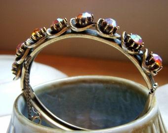 Florenza Rhinestone Bangle Bracelet