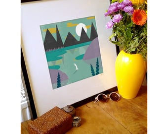 Mirror Lake - Giclee Print