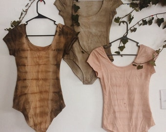 Naturally Dyed Bodysuit