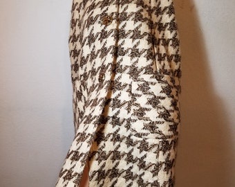 FREE  SHIPPING  Vintage Designer Wool Cape