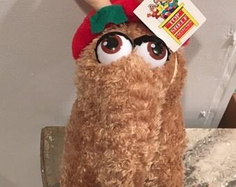 Sesame Street Snuffy Christmas Rare Plush