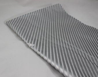 Silver Diagonal Tissue Paper, Metallic Tissue Paper, Patterned Tissue Paper, Gift Wrapping, Craft Paper, Geometric Tissue Paper, Gift Wrap