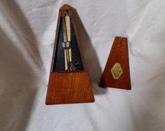 Vintage French J.T.L. De Maelzel Metronome/works/JTL Beat Scale