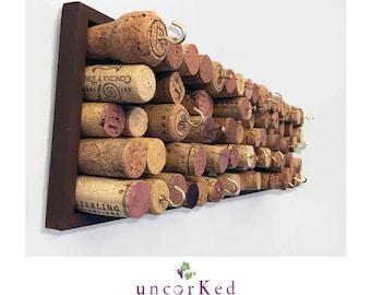 Wine cork holder letter Etsy