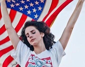 Lana Del Rey Shirt , Buttwiser Shirt , Lana Del Rey Buttwiser T Shirt , Tumblr Shirt , Cute , Trendy , Ultra Violence , Honeymoon , Ride