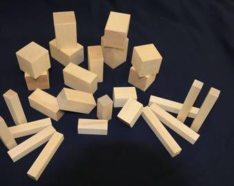 Building Blocks - Solid Wood