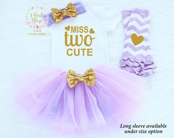 Second Birthday Outfit Girl, 2nd Birthday Outfit Girl, Girl 2nd Birthday Outfit, 2nd Birthday Girl Outfit, Two Birthday Tutu Outfit BS4
