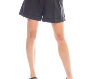 1970s Cacharel Paris Culotte Shorts Size: S