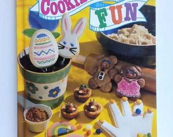 Cookie Dough Fun Cookbook Picture Cookbook Fancy Baking Childrens Baking Christmas Easter Valentines Halloween Cookie How To Recipes