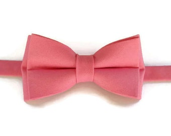 Pink Bow Tie - Bow Tie - Boys Bow Tie - Bow Tie for Boys - Pre-tied Bow Tie - Kids Bow Tie - Bow Ties for Boys - Kids Bowtie