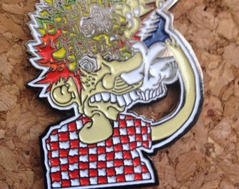 Grateful Dead pin Ice cream man Europe 72' Jerry Garcia  LE 200  Artwork by Thomas Chung