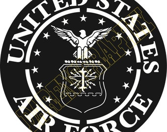 "DXF File ""Air Force"""