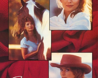 Shania Twain Collage 1995 Rare Poster