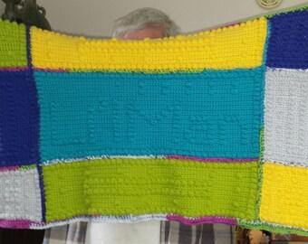 Crocheted Security Blanket
