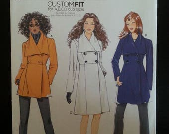 Butterick 5685 - Misse's jacket and coat sewing pattern - Size U.S. 8-16