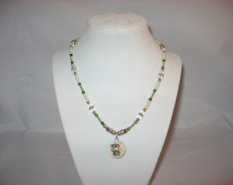 """18"""" St. Patrick's Day, Irish, Celtic Necklace"""