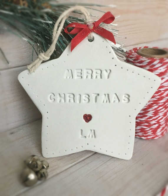 Homemade Baby Gifts Uk : Items similar to personalised christmas gift white star