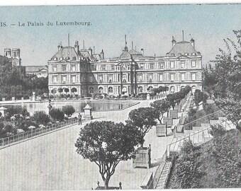 Paris, France, La Palais du Luxenbourg,  Antique Circa 1910  Unused French Postcard