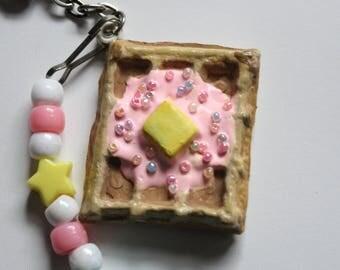 Sweet Deco Waffle Keychain