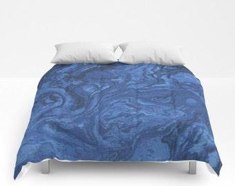 Marble Comforter Etsy
