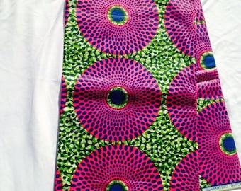 Ankara Block Wax/African Clothing/African Fabric/Ankara/Fabric/Crafts/Ankara Dutch Wax sold by yard