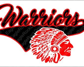 Warriors Baseball Softball SVG, DXF, EPS, Png Cut File for Cameo and Cricut, Baseball Svg, Baseball Mom, Softball Svg, Instant Download
