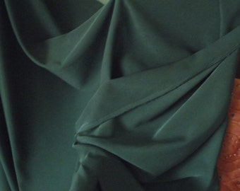 Forest Green Suiting Fabric