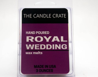 Royal Wedding Scented Soy Wax Melts