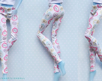 Monster doll clothes Handmade CLOCKS leggins fits EAH\MH