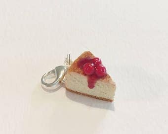 Cherry Cheesecake Charm