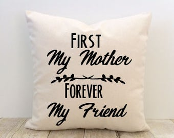Mom Pillow Cover, Mother's Day Pillow Cover, Grandma Pillow Cover, Nana Pillow Cover, Love Pillow Cover