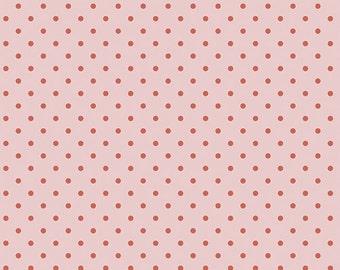 1 Yard Les Petits  by Amy Sinibaldi for Art Gallery Fabrics - Petits Dots - 713 Rose