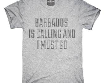 Funny Barbados Is Calling and I Must Go T-Shirt, Hoodie, Tank Top, Gifts