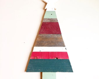 Wooden Christmas Tree Sign (MEDIUM) / Wooden Christmas Tree / Home Decor / Holiday Decor