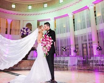 Bridal Veil About 9 Feet