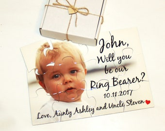 Will you be my Ring Bearer,  Ring Bearer proposal, Asking  Ring Bearer, Ring Bearer puzzle, Ring Bearer Invitation puzzle, Ring Bearer
